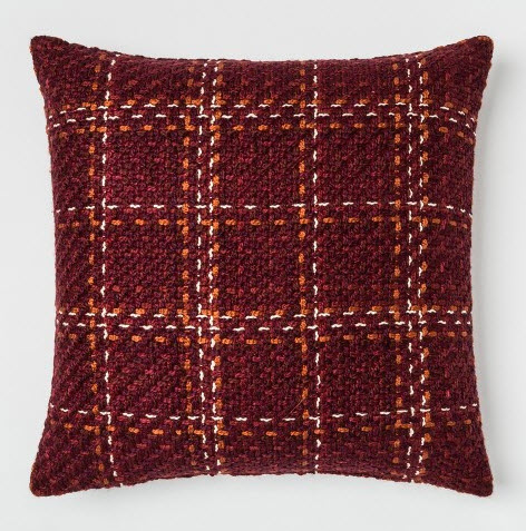 Plaid Oversize Square Throw Pillow Berry.jpg