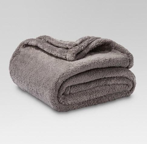 Fuzzy Blanket Throw - Threshold™
