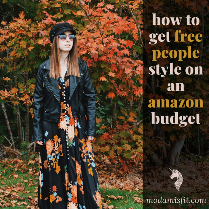 Click here    to shop this look! (that Free People looking    floral maxi dress    is $29 on Amazon btw)