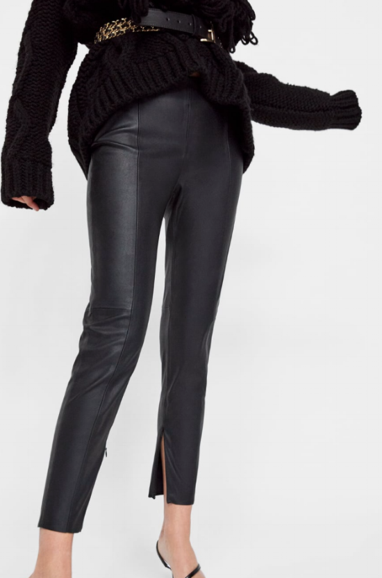 zara faux leather leggings.png