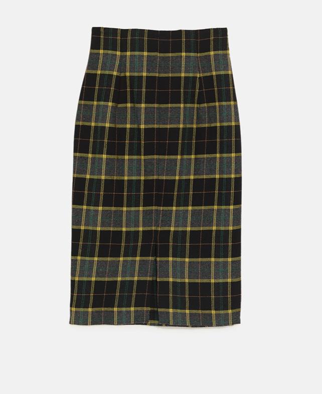 zara plaid tube skirt.png