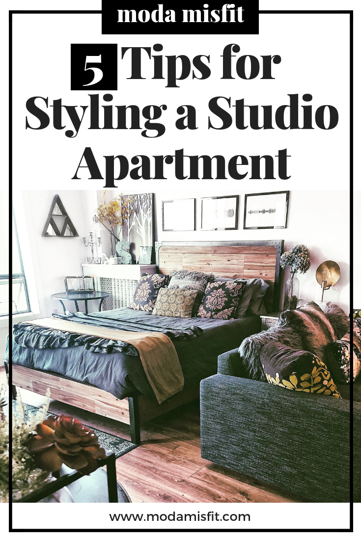 5 Tips for Styling a Studio Apartment.png