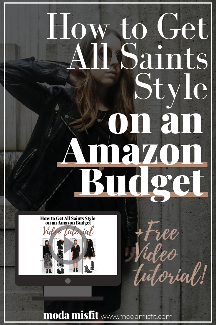 61fa183178 How to Get All Saints Style on an Amazon Budget — Moda Misfit