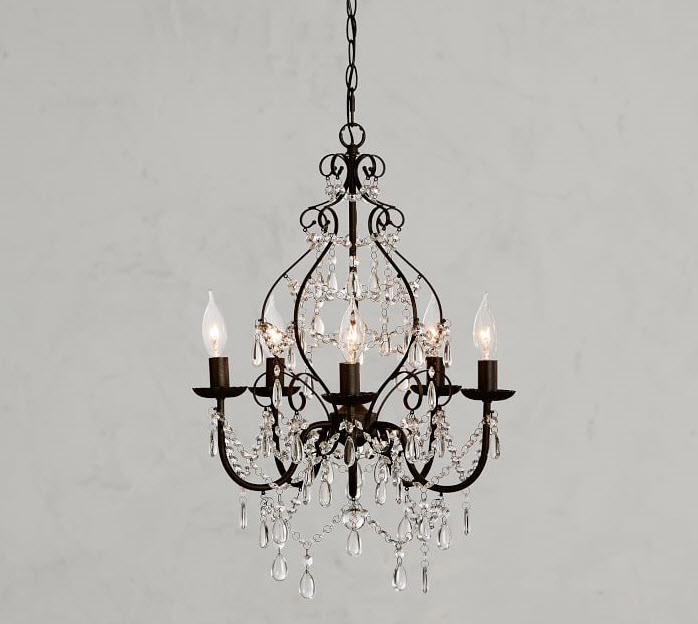 Pottery Barn - Paige Crystal Chandelier