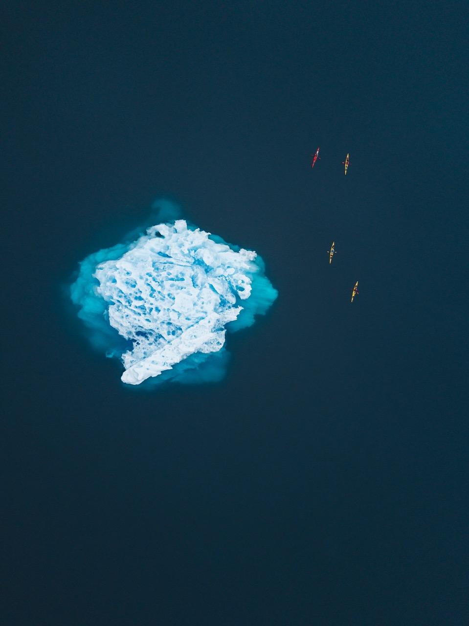 Greenland-Kayak-Iceberg-Water-Blue