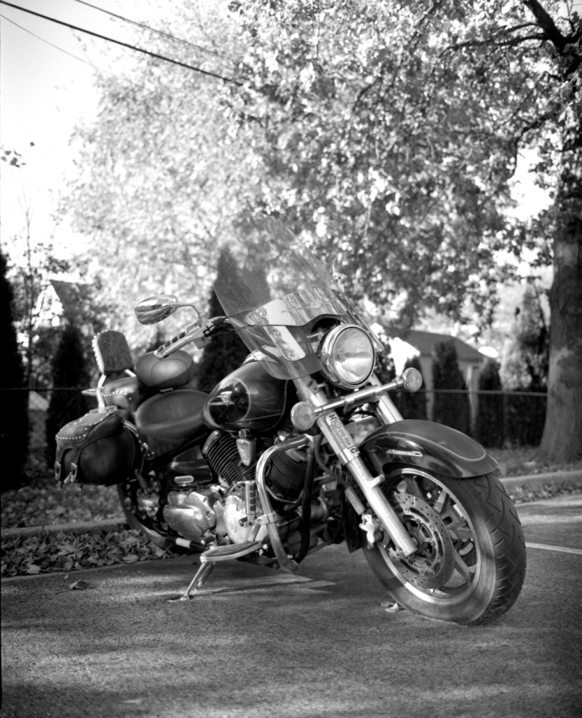 mamiya-RB67 motorcycle