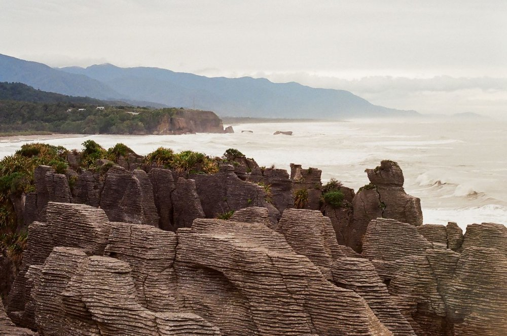 Punakaiki Pancake Rocks, New Zealand South Island