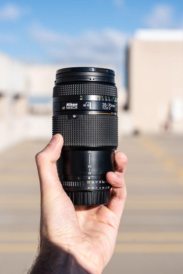 Nikon 35-70mm f/2.8D Auto Focus Zoom Nikkor Lens