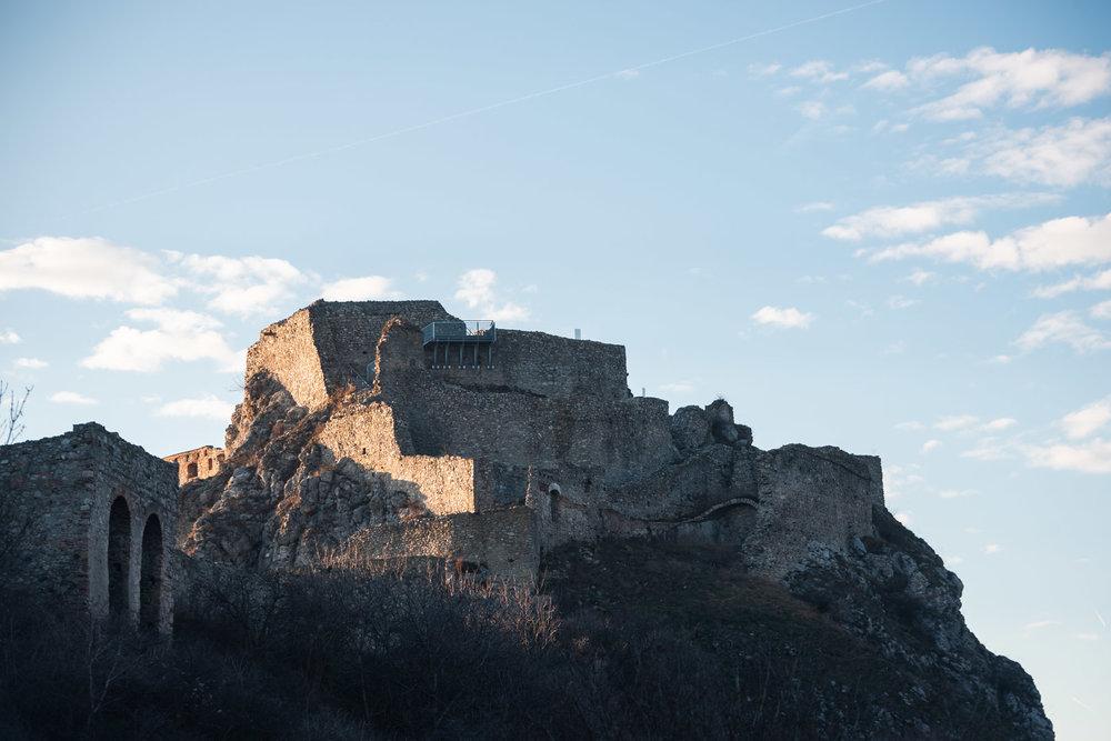 Devin Castle Ruins Slovakia Urban City Eastern Europe Medieval