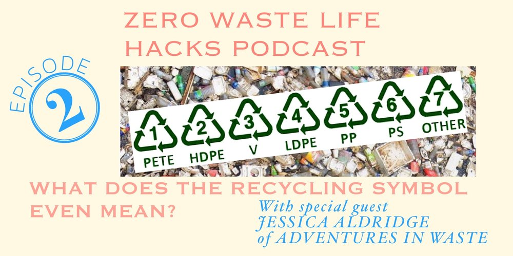Zero Waste Life Hacks S1 Ep 2 What Does The Recycling Symbol
