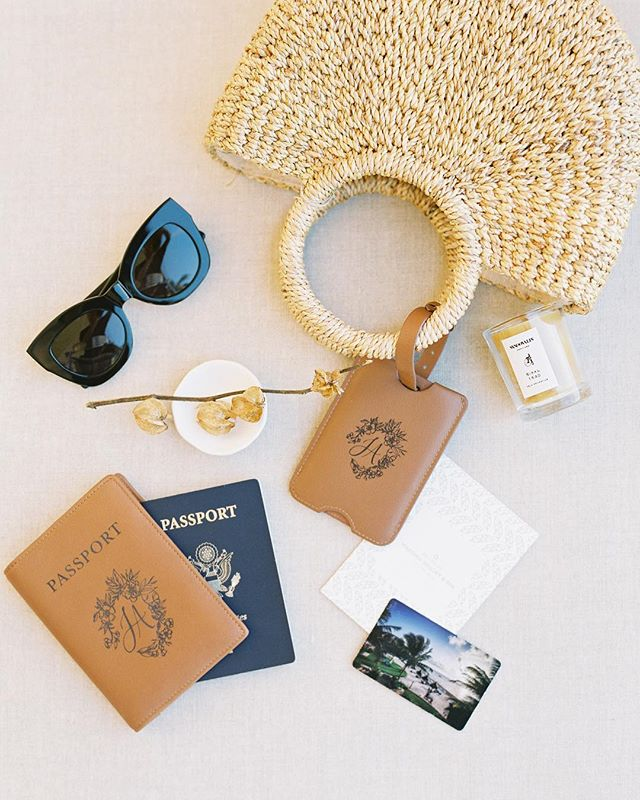 A tropical destination packing list: ☑️ Passport ☑️ Sunglasses ☑️ An adventurous side  Wish we could do it all over again! Read the story linked in profile. Featured today on the front page of @stylemepretty. —  Design, Planning + Stylist @idyllstories Photography @_esthersun Hair & Makeup Stylist @chialimengartistry Florals @alliumestudiofloral Papel Picado Backdrop @karinapuentearts Dress 1 @bellabridesmaids Dress 2 @kinsleyjamescouturebridal Dress 3 @galialahav from @thewhitedresscouture  Outfit @oscardelarenta