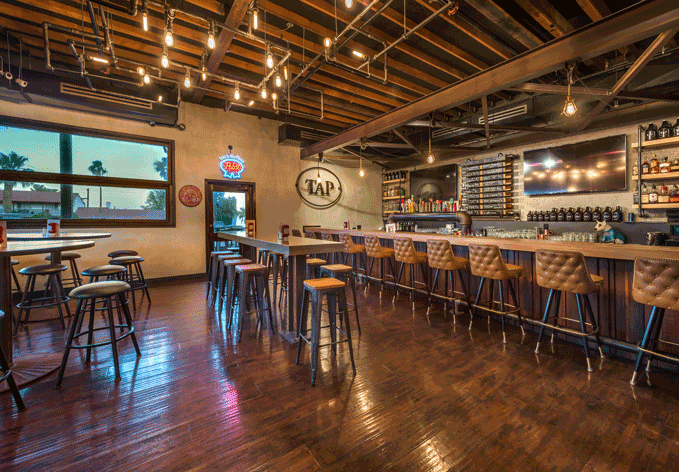 The Tap - Boulder City's Newest & Most Eclectic Eatery Featuring 18 Draft Handles and Bar Food From Around The World