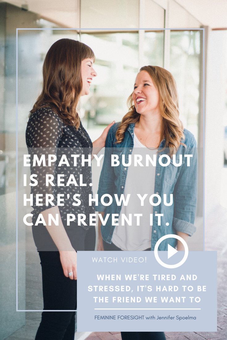 << Pin it! - Even the most naturally empathetic people can experience burnout with empathy.Our desire to demonstrate empathy can easily be overloaded by responsibilities, negativity, or our own internal struggles.We tend to think of empathy as an innate trait, something we have or don't have. But new research suggests otherwise.In this episode of Feminine Foresight you'll learn how your perspective about the source of empathy impacts your ability to show it to others!