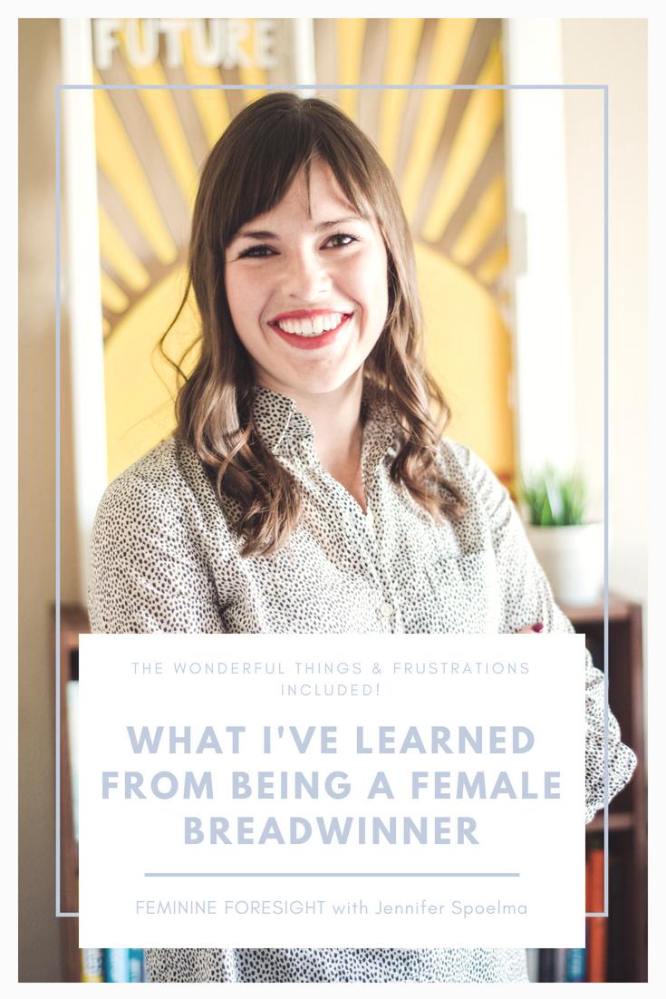 What I've Learned from Being a Female Breadwinner   Jennifer Spoelma