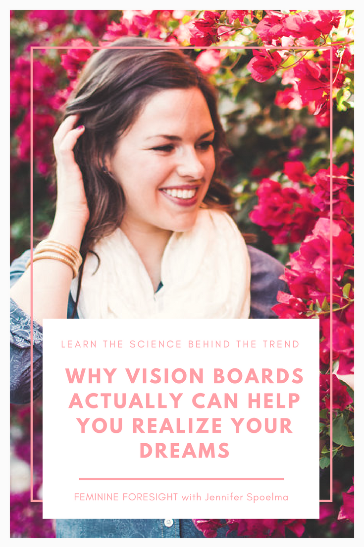 Why Vision Boards Actually Help You Achieve Your Goals | Jennifer Spoelma