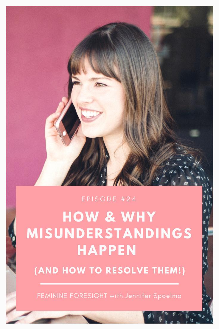 Communication Breakdown: How Misunderstandings Happen and What to Do About It | Jennifer Spoelma