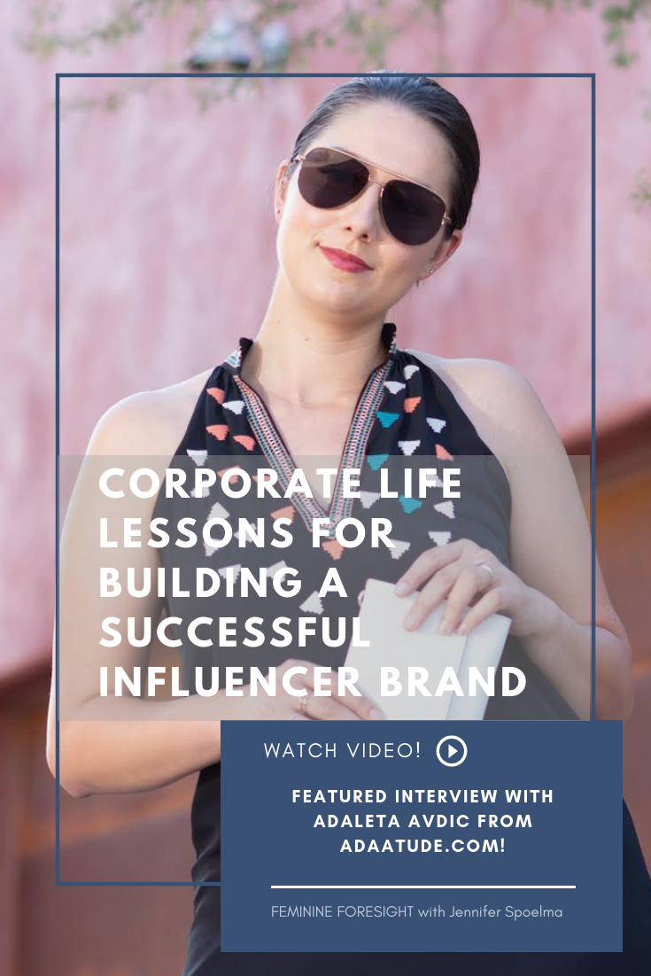<< Pin it! - Adaleta is a rockstar in both the social media influencer world and corporate tourism industry.Her steadfast work ethic has led her to significant success and opportunities to build a personal brand that is authentic and fun for her to manage.In our chat we discuss what she values in both her corporate job and personal brand, body positivity and how her immigration from Bosnia as a child shaped her worldview.