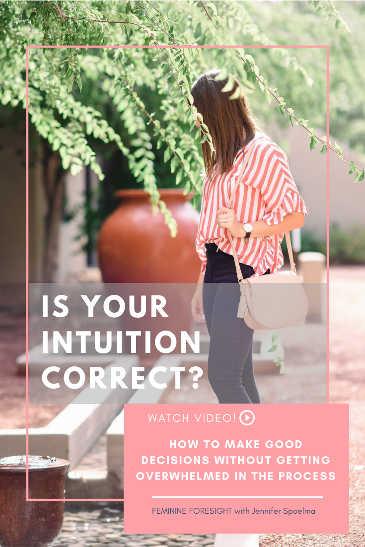 << Pin it! - Intuition gets a lot of credit for leading people to make healthy, aligned decisions.There is a lot of talk in health and wellness circles about intuitive eating, exercise and self-care.But does the data behind intuition-based decisions align for bigger life decisions?In this episode of Feminine Foresight, we explore what's really happening in our brain when we make decisions.Let's explore how to gauge your reliance on intuition and how you can make better decisions!