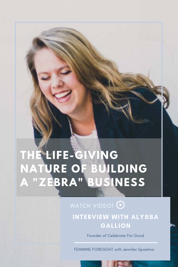 << Pin it! - Alyssa Gallion has taken the leap into the full-time entrepreneurship life, and I couldn't be more proud of her. Her business, Celebrate For Good is what's called a