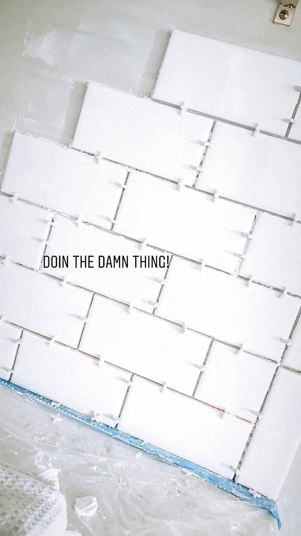 Diy Subway Tile Backsplash Diy Dont Ya