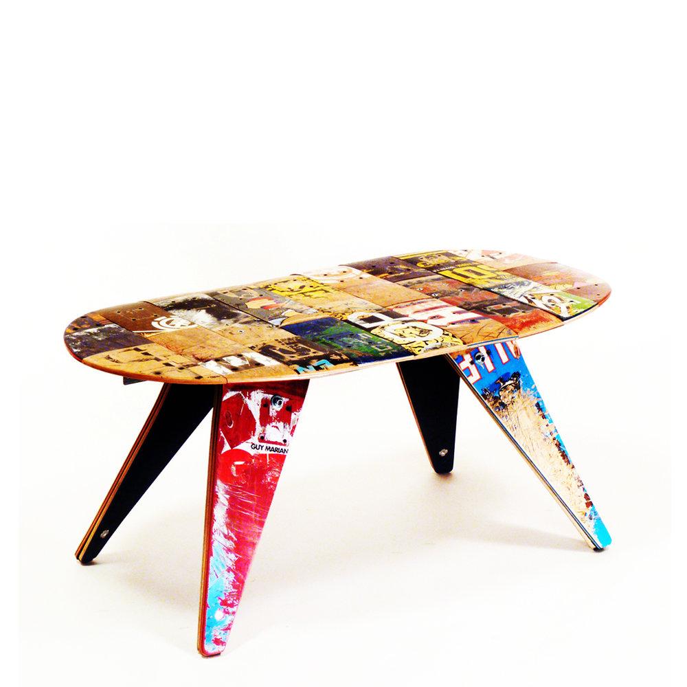 Skateboard Coffee Table