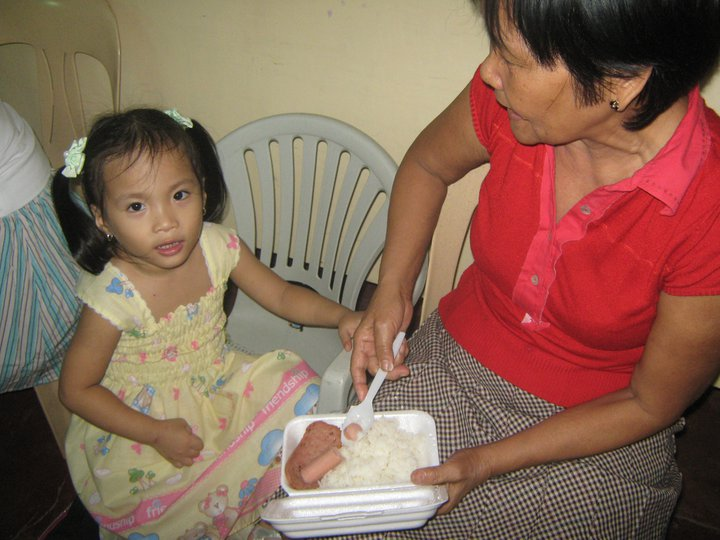 A single mother like Maria seeks help to feed her child. She is one of the many who are victims of poverty.