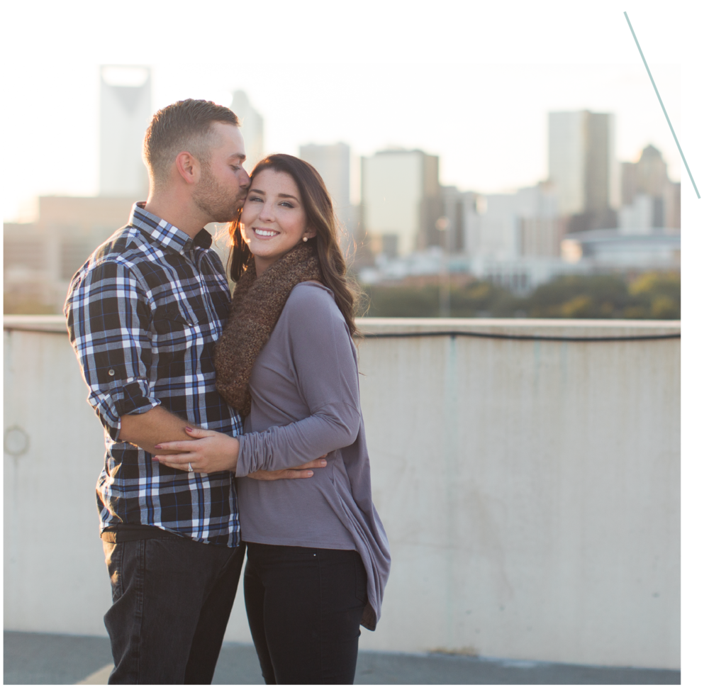 engagements - This is a time for us to get to know each other and for you to get comfortable in front of the camera! I'm always looking for those genuine smiles and love when your personality shines through in your photos.