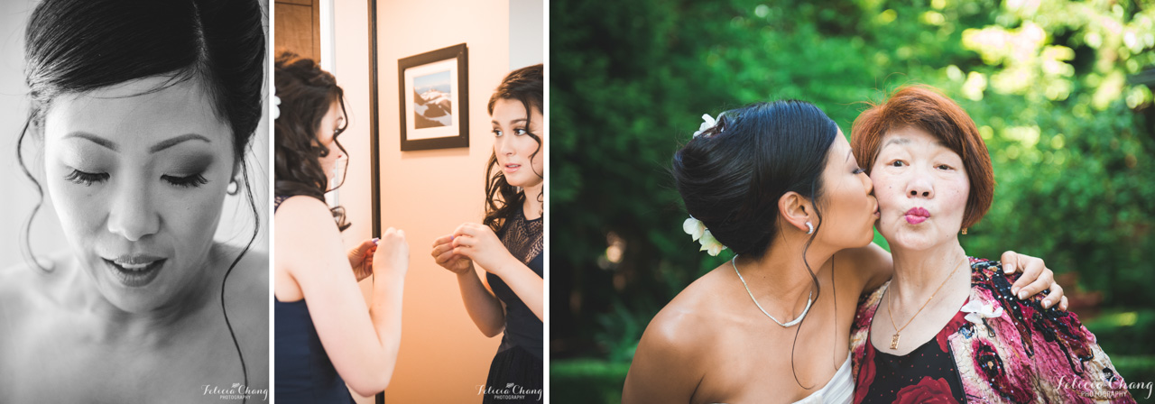 wedding preparations, jewellery, makeup, mother-of-the-bride and bride
