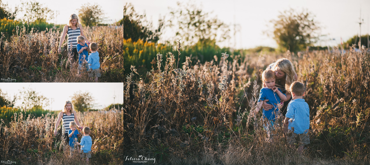 boys with sticks, vancouver family photographer, Felicia Chang Photography