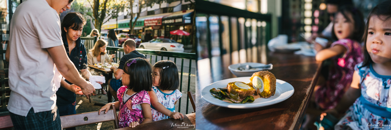 Family Dinner out | Felicia Chang Photography