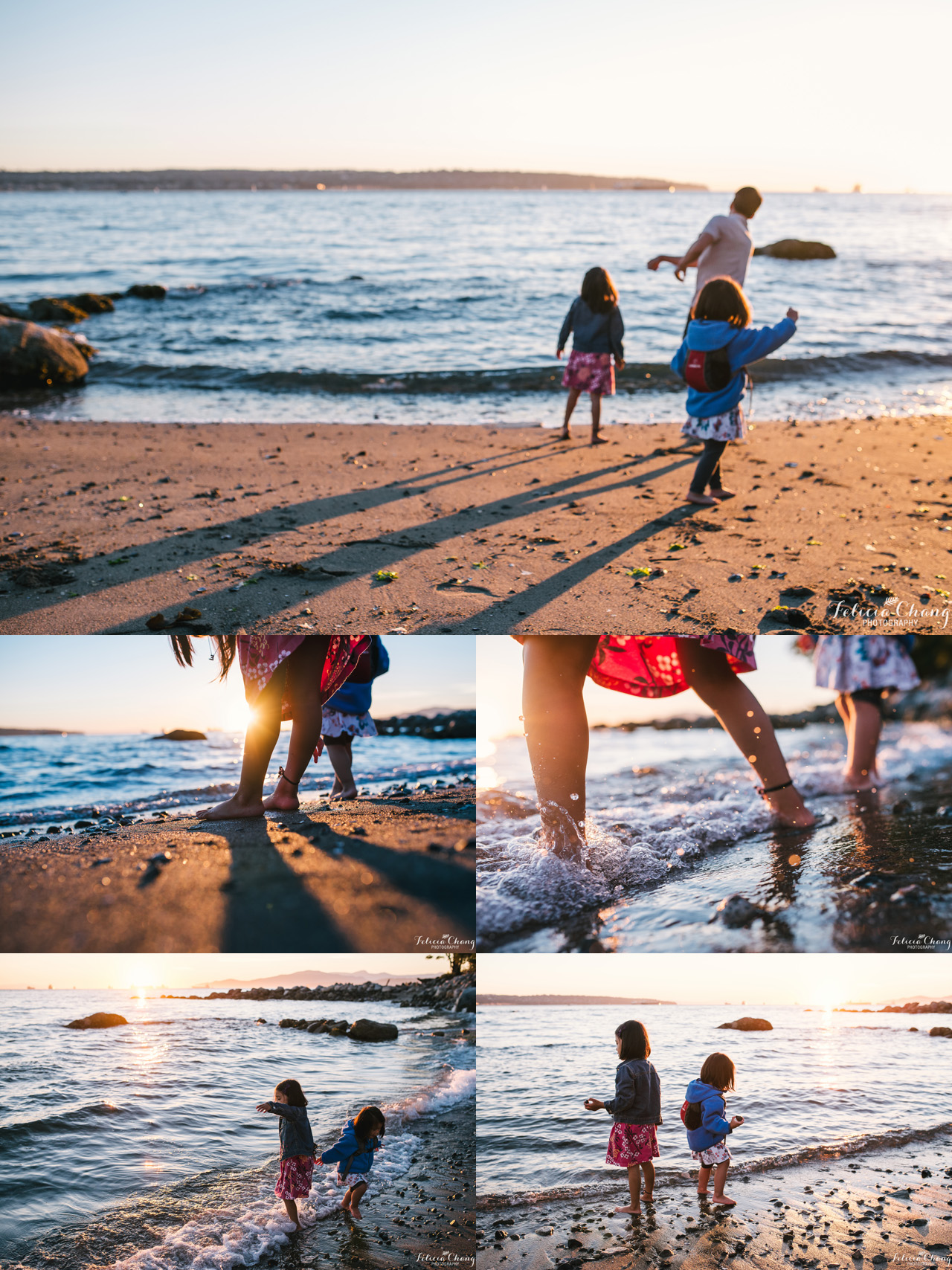 Evening at the beach | Felicia Chang Photography