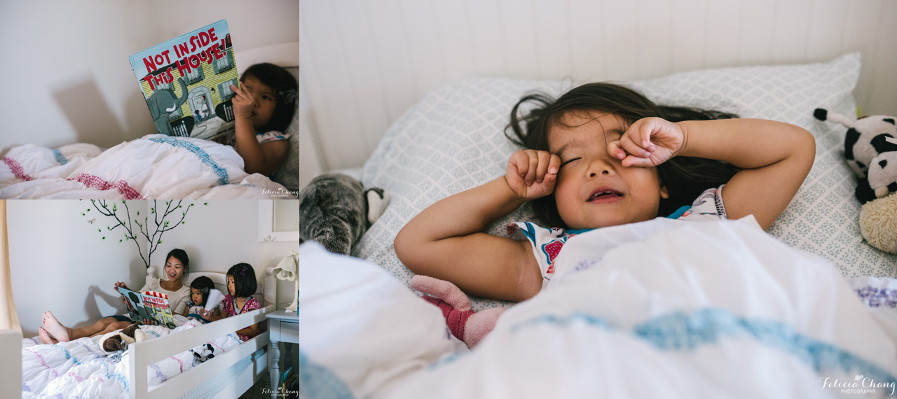 Nap time routine | Felicia Chang Photography