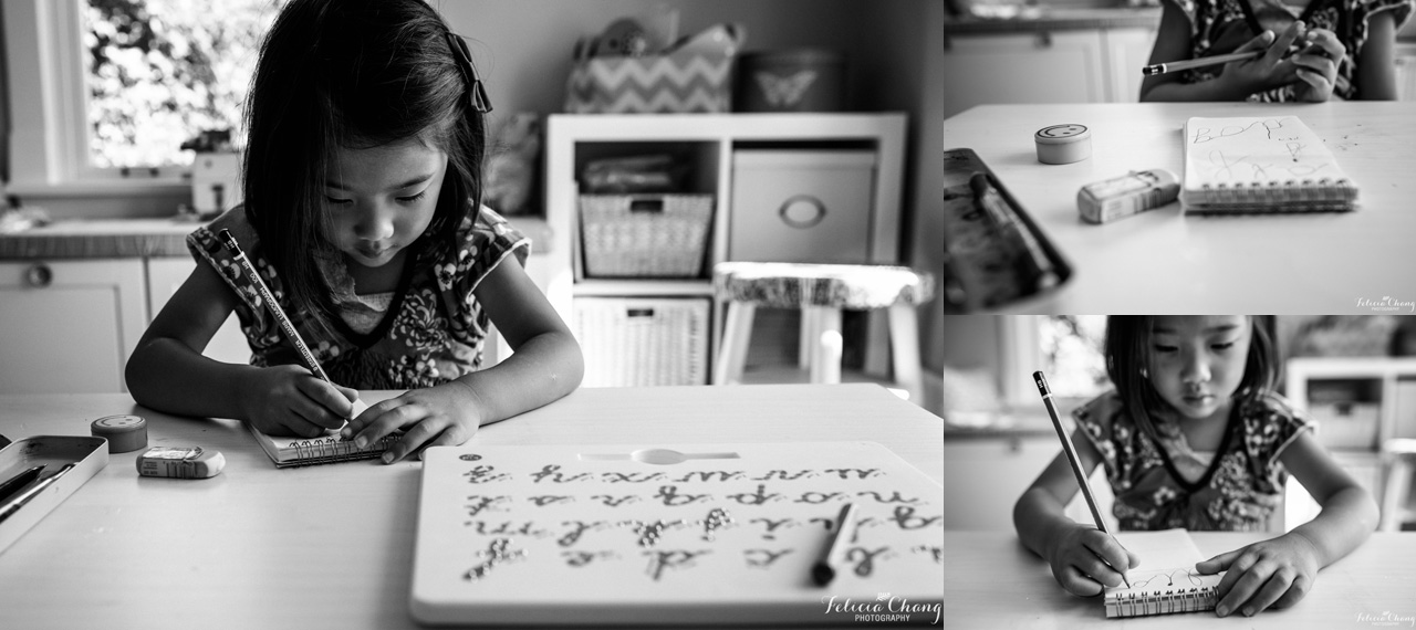 School homework | Felicia Chang Photography