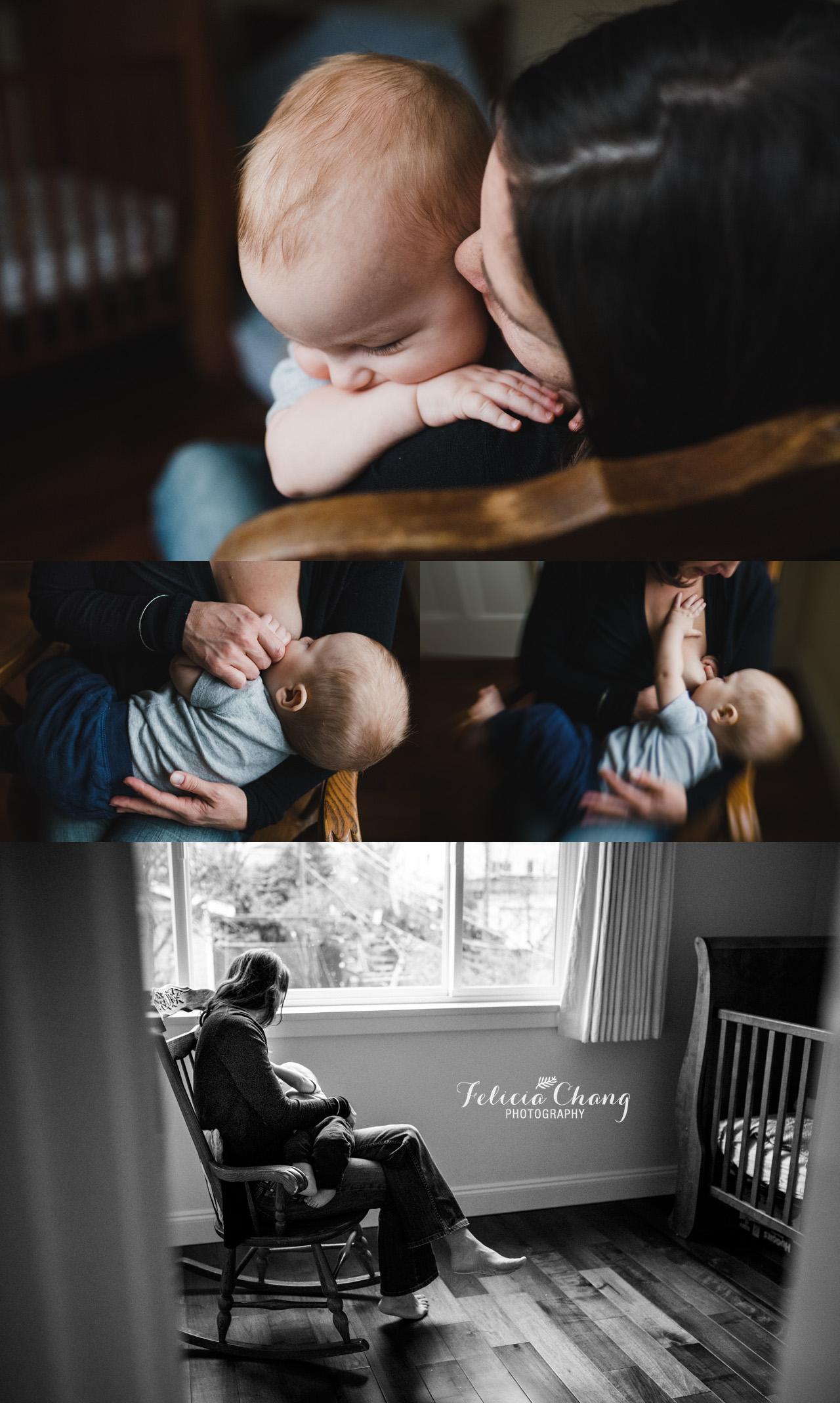 vancouver breastfeeding photos | Felicia Chang Photography