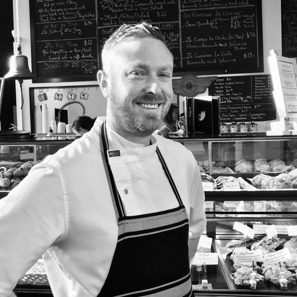 Tyler Buick Executive Chef La Cloche, Wellington