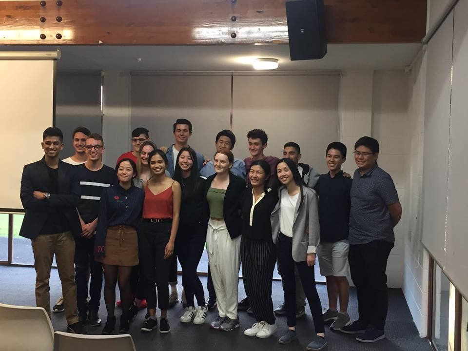 2018 Howick youth Council Leadership Team
