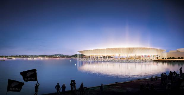 Is a sunken waterfront stadium the answer?