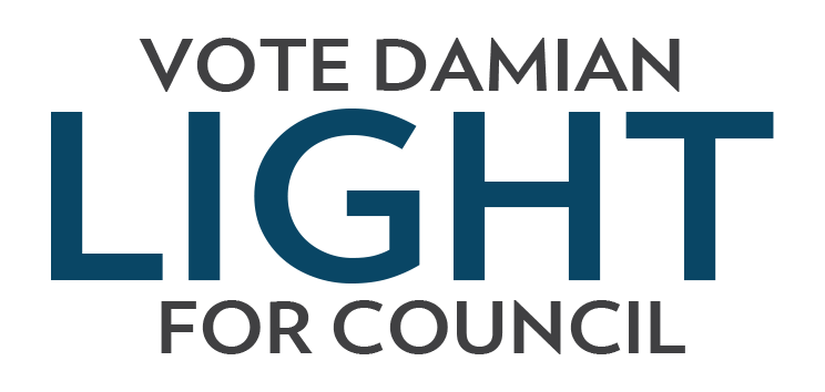Vote Damian Light for Council