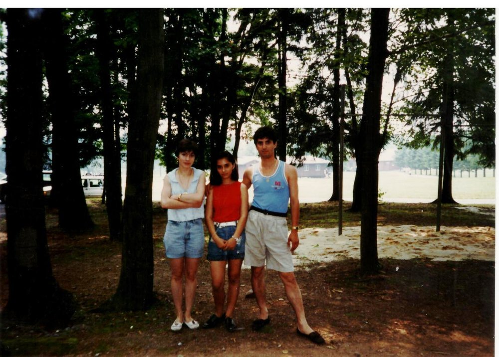 2nd year in America - Camp Harlem in the Poconos