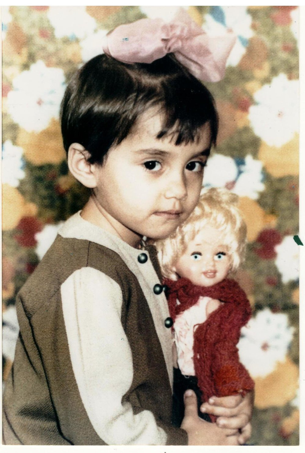 Nursery school photo, age 4 - Leningrad