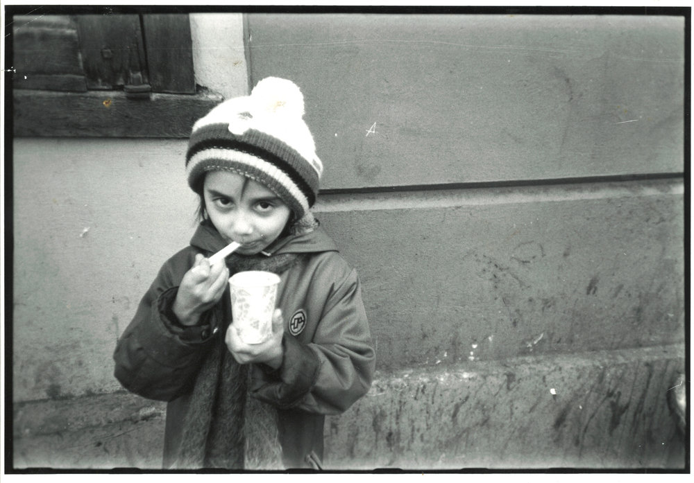 Print from a negative found by dad's friend and given to me on the return Russia trip
