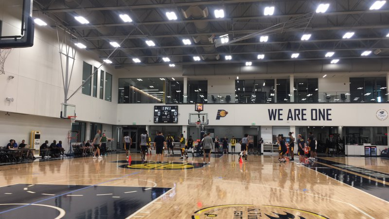 Pacers open summer league practice, reuniting UCLA products Alford, Holiday, Leaf