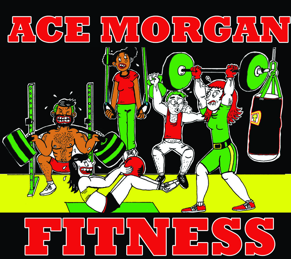 Ace Morgan, Personal Trainer, shirt design, 2016