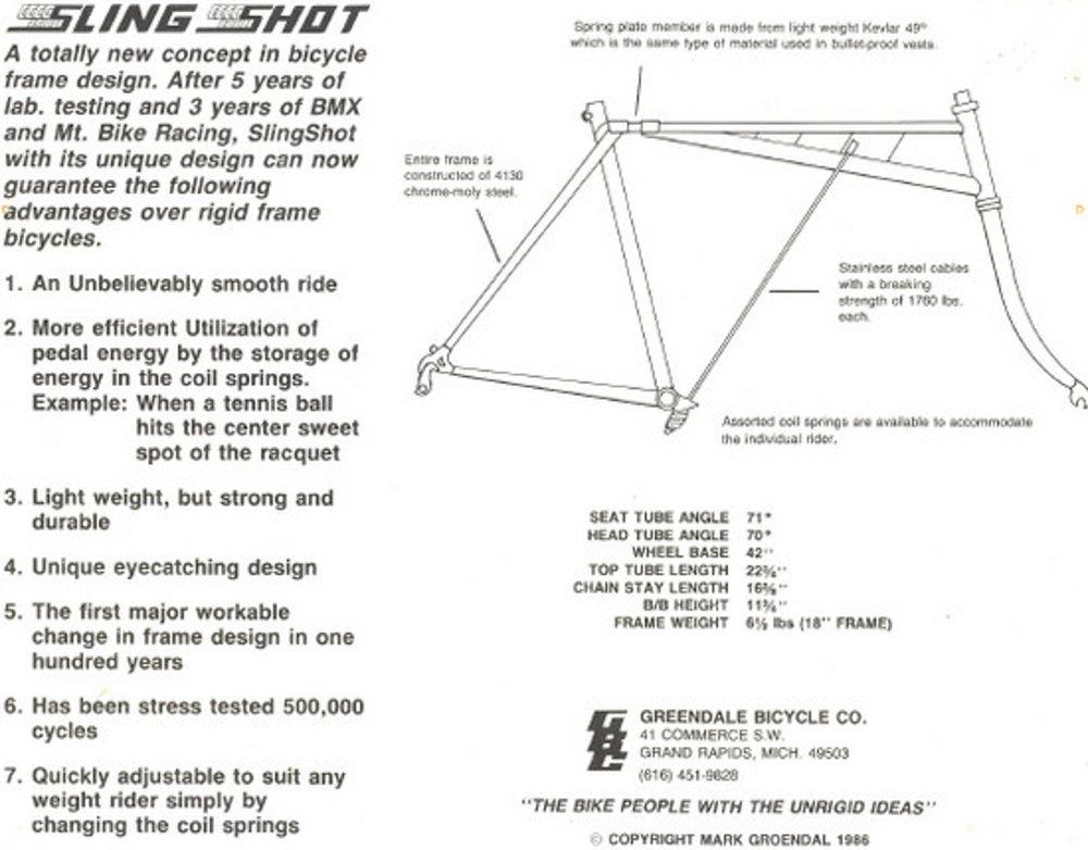 1986 Slingshot commercial ad