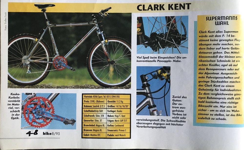 Bike - Das Mountain bike magazine August 1995