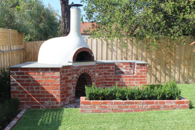 Above Image: Donatello DIY Oven with Round Arch