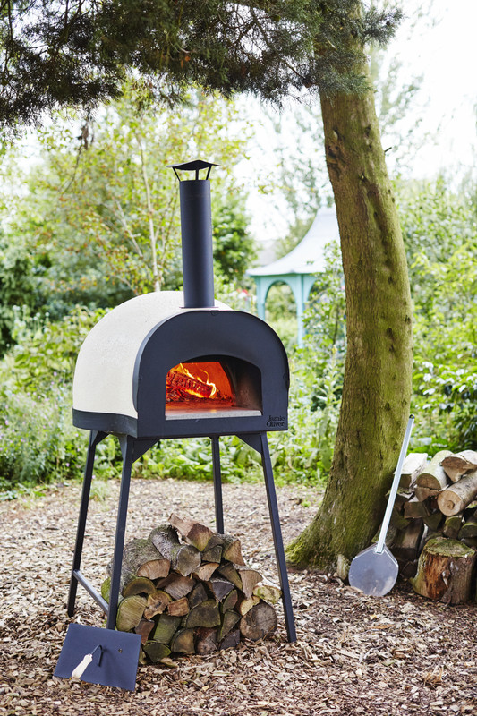 Dome 60 leggero - Includes complimentary peel, brush and removable oven stand.DESCRIPTIONPre-assembledCompactColour can be adapted with acrylic paint (DIY)Crack resistantWaterproofTop shell made of composite materialSelf cleaningORIGINHandmade in ItalyHEATING TIMEOptimum 20-30 minutes fire for fish, meat and vegetablesOptimum 45 minutes for pizzaWEIGHTStand 16kgOven 160kgDIMENSIONSOven with Flue H 105cmOven without Flue H 57.5cmOven Cooking Floor 60cmOven External W 87cmOven External D 94.5cmEntrance to Cooking Floor W 30cm x H 20cmFront Floor W 40.5cm x D 31cmStand H 93cmStand Ground Space W 81cm x D 81cmDELIVERYGeneral 2-5 days delivery (Australia Wide)Express delivery (ask us!)WARRANTY12 month warranty