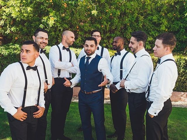 Lookin good fellas! That's all the caption needed!  📸: @diegonacho.photography 📍: Ahwatukee, Phoenix, AZ 💐: @dionneevents 💄: @chicartistrystudio 📋: @dionneevents * * * #azweddingplanner #azplanner #arizonaweddingplanner #theknot #theknotaz #weddingplanner #azphotographer #weddingphotographer #eventplanning #eventplanner #weddings #azweddingplanner #destionationweddings #bridestobe #weddingcoordinator #planning #azeventplanner #venues #azvenues #weddingideas #bridalparty #modernbride #modernwedding #canadiandestinations