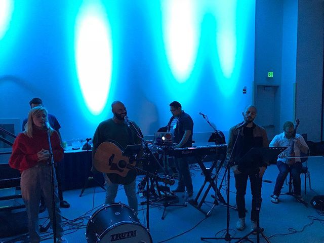 How did you like this band? #Scrcyoungadults #scrc2018 #praiseandworship