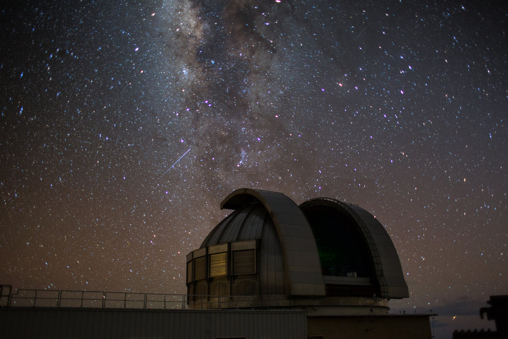 If aperture was the solution to light pollution, large observatories like this would be built in the cities.